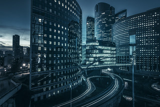 Dark side of urban life