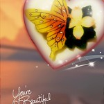 Day 53 of 365--Beautiful Porcelain Butterfly in Toolwiz Frame--Cellphone Project 2018 thumbnail