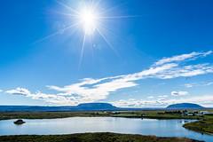 Plateau (*Capture the Moment*) Tags: 2017 farbdominanz fotowalk himmel iceland island lakemyvatn myvatn seemyvatn sky sonya7m2 sonya7mii sonya7mark2 sonya7ii sonyfe2470mmf4zaoss sonyilce7m2 water blau blue green grün wasser