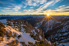 die letzten warmen Sonnenstrahlen... (F!o) Tags: walchensee herzogstand sonnenuntergang sunset sunrise alpen alps mountains berge landschaft storm wind sturm ngc