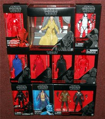 Hasbro - Black Series Exclusives (Darth Ray) Tags: hasbro exclusive starwars 6inch blackseries figures star wars 6 inch black series amazon elite praetorian guard with heavy blade gamestop supreme leader snoke throne room target first order stormtrooper executioner senate imperial royal emperors shadow double inferno squad agent walgreens obiwan kenobi force spirit toys r us admiral ackbar officer tru