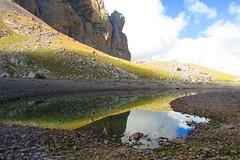 .....riflesso,laghi di Pilato (lancio73a) Tags: pilato laghi natura riflessi acqua sibillini montagna verde marche foce escursioni