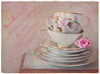 Vintage Cups (JMS2) Tags: stilllife texture cups saucers flower vintage retro