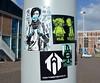 stickers in Amsterdam (wojofoto) Tags: amsterdam nederland holland streetart wojofoto wolfgangjosten stickers sticker stickerart wojo