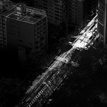 The last light - Tokyo, Japan - Black and white photography thumbnail