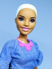A portrait (Nickolas Hananniah) Tags: barbiedoll fashionistas fashion doll 2018 flocked hair smile model pose edgy toy barbiefashionistas