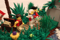 Joshua Falls (spud_the_viking) Tags: botbs lego nature waterfall falls redcoats exploration water river discovery corrington