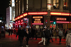 Aberdeen Steakhouses (Canadian Pacific) Tags: london england uk great britain british english 2016aimg1944 haymarket sw1 aberdeen steakhouses 21 22 coventry street night shot image photo