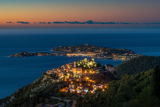Eze at Blue Hour