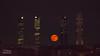 Once in a Red Moon (Matteo Liberati) Tags: elpardo spagna madrid moon spain luna españa 4torres skyline skyscrapers grattacieli torri torres rascacielos urbanlandscape paesaggiourbano paisajeurbano night notte noche lights luci luces darkness oscuridad oscurità city ciudad città edifici buildings edificios fullmoon lunapiena lunallena exterior outdoors cityscape red rossa roja