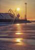 Against the light (BigWhitePelican) Tags: helsinki finland winter sun ice sea cranes hanasaari canoneos70d adobelightroom6 niktools 2018 january