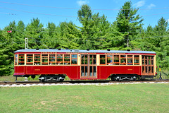 Halton County Radial Ry #2424 (Jim Strain) Tags: jmstrain train railroad railway streetcar tram trolley canada toronto transit ttc