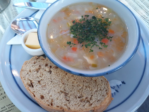 Chicken Broth @ Gloagburn Farm shop and restaurant