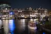 nightlife (=Mirjam=) Tags: nikond750 reflection water river amstel amsterdam nightlife 52in2018challenge boat februari 2018