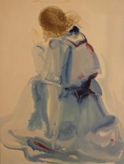 Salvador Dalì (Salvador Domènec Felip Jacint Dalí i Domènech 1904-1989) - the angel of the first heaven - The Divine Comedy (watercolor 1950-1954) - Historian Gallery - Gavirate (Varese) (raffaele pagani (away for a while)) Tags: salvadordalì salvadordomènecfelipjacintdalíidomènech ladivinacommedia dantealighieri virgilio virgil labibbia thebible mostra exhibition acquarello watercolor serigrafia screenprinting oltronaallago gavirate provinciadivarese canon