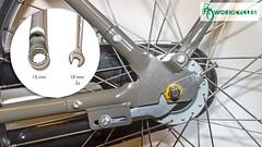 WorkCycles Escape Hatch 3 (@WorkCycles) Tags: achtervork banden bicycle bike chaincase dropout dutch escapehatch fiets forkend fr8 gr8 kr8 padden repair tire workcycles