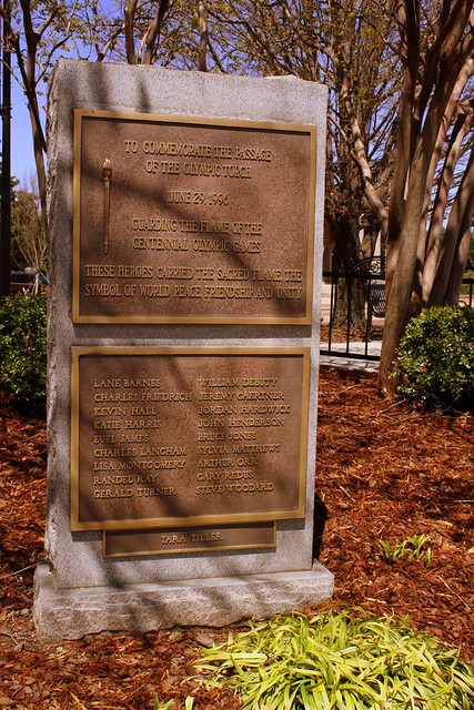 Olympic Torch Monument - Decatur, AL