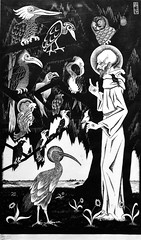 St. Francis (1922) - Maurits Cornelis Escher (1898-1972)