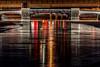 Pretoria Bridge (KVSE) Tags: reflections winter ice frozen flood rideaucanal pretoria bridge cold shiny reflecting reflection skateway rideauskateway rideau