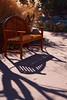 bench, bush, and shadows (johngpt) Tags: shadows fujinonxf55200mmf3548rlmois bench fujifilmxt1 festivalgreen morninglight contrejour places abqbotanicgardens benchmonday hbm