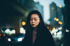 well you knew as much (hurtingbombz) Tags: leica me sonnetar bokeh dof portrait hongkong chinese asian cool beautiful travel traffic dusk evening