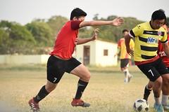 Sunday  League #amaturesoccer #soccer #football #sport #nikond5500 #nikkor55_300mm (stevenkaung1) Tags: nikond5500 football sport soccer nikkor55300mm amaturesoccer
