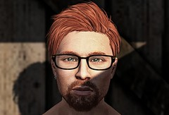 Study for a realistic portrait 6 (Ricco Saenz) Tags: sl secondlife portrait realism
