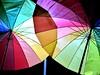 Die Lust nach Farben (Ela2007) Tags: bunt regenschirm nacht dunkeljahresszeit farben