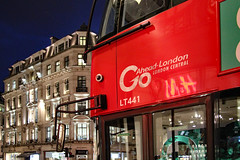 Go-Ahead, London, go ahead LT441 (Can Pac Swire) Tags: england english unitedkingdom britain british great oxfordcircus regentstreet night photo shot image bus doubledecker doubledeck transportfor 2016aimg1909dc goahead central lt441