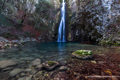 Saut du Ray (Damien06300) Tags: canon 6d 1635mm canonfrance france paca alpesmaritimes cotedazur frenchriviera vence francefocuson pacafocuson igersnice igersfrance igersworld nice06 nicetourisme nice villedenice nicemoments winter mountain waterfall water rock grass leaf longexposure filter