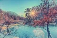Winter Scene at Starved Rock (kendoman26) Tags: hss happyslidersunday starvedrockstatepark winter hdr nikhdrefexpro2 nikcoloreffex4pro nikon nikond7100 tokinaatx1228prodx tokina1228 tokina