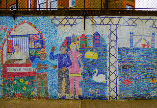 The Wall Mosaic of Columbia Primary School