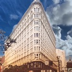 San Francisco California - The Phelan Building  - Flatiron  -  Vintage Photo thumbnail