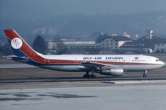 Dan Air London Airbus 300 B4 G-BMNC (c/n 012) (Manfred Saitz) Tags: salzburg airport szg lows dan air london airbus 300 a300 ab3 gbmnc greg