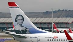 EI-FVN LEMD 10-01-2018 (Burmarrad (Mark) Camenzuli Thank you for the 10.7) Tags: airline norwegian aircraft boeing 7378jp registration eifvn cn 42085 lemd 10012018