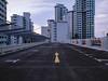 Straight Ahead (OzGFK) Tags: 120 645 asia kodak kodakektar pentax645n singapore analog carpark clouds dusk evening film mediumformat rooftop sunset twilight hdb apartment building