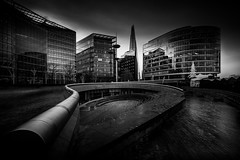 The Scoop (lja_photo) Tags: london thescoop city cityscape sky skyline street streetphotography glass building buildings architecture architectural art fineart cityhall winter europe exploration exposure reflections travel tourism textures urban outdoors modern dramatic design fujixt20 uk light long longexposure lights clouds contrast black white blackandwhite photography bw bnw blackandwhitephoto monochrome monotone monoart moody theshard theatre amphitheatre