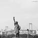 Statue of Liberty & Rainbow Bridge.