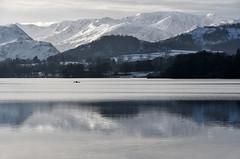 Ullswater (After-the-Rain) Tags: ullswater englishlakedistrict lakedistrict reflections january2018 snow canoe