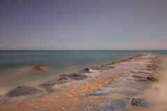 Submerged (mclcbooks) Tags: jetty pier dock blockisland rhodeisland longexposure le seascape landscape horizon ocean sea