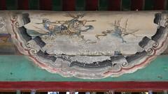 Demon Warrior ? (█ Slices of Light █▀ ▀ ▀) Tags: painted painting beams 長廊 long corridor 长廊 cháng láng interior yiheyuan 頤和園 summer palace beijing 北京 中國 china 中国 panasonic lumix tz100 zs100