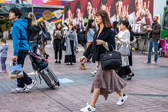 Determined (burnt dirt) Tags: asian japan tokyo shibuya station streetphotography documentary candid portrait fujifilm xt1 laugh smile cute sexy latina young girl woman japanese korean thai dress skirt shorts jeans jacket leather pants boots heels stilettos bra stockings tights yogapants leggings couple lovers friends longhair shorthair ponytail cellphone glasses sunglasses blonde brunette redhead tattoo model train bus busstation metro city town downtown sidewalk pretty beautiful selfie fashion pregnant sweater people person costume cosplay blue plaid tartan