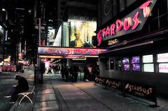 Stardust (Jim Nix / Nomadic Pursuits) Tags: 28mmf2 bigapple ellensstardustdiner jimnix luminar macphun nyc newyorkcity nomadicpursuits sony sony28mmf2 sonya7ii timessquare cityscape evening neon night streetscene travel