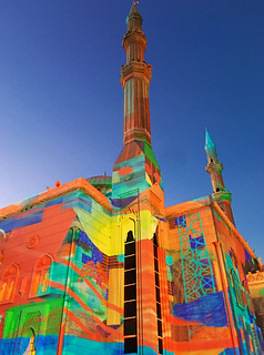 Light festival in Sharjah