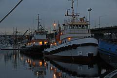 6405_Billie H_Samson Mariner (lg evans Maritime Images) Tags: maritimeimages ©lgevans lgevans lge samsonmariner billieh fishermansterminal portofseattle sunset water boats tugs tugboat calm boyer samson