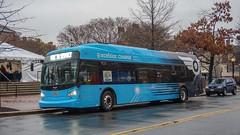 DASH Alexandria Transit Company New Flyer Xcelsior XE40 Demo (MW Transit Photos) Tags: dash alexandria transit company new flyer xcelsior xe40 demo
