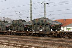 Niederländischer Militärzug, Graben Neudorf (TaurusES64U4) Tags: militär