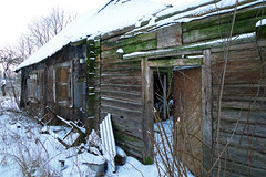 Ghost House (Jolita Kievišienė) Tags: house home abandoned ghost old forgotten past rustic rural village lietuva lithuania shack