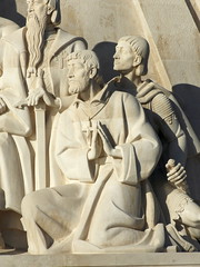 #4555 young Saint Francis Xavier (missionary) (Nemo's great uncle) Tags: padrãodosdescobrimentos monumentofthediscoveries monument tagusriversanta maria de belémlisbonportuguese age discoveryage exploration