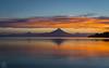 Amanecer en el llanquihue (Takk Heima Fotografia) Tags: frutillar chile puerto varas osorno puntiagudo octay volcano volcan